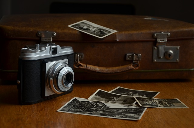 Fotoaparát u kufru