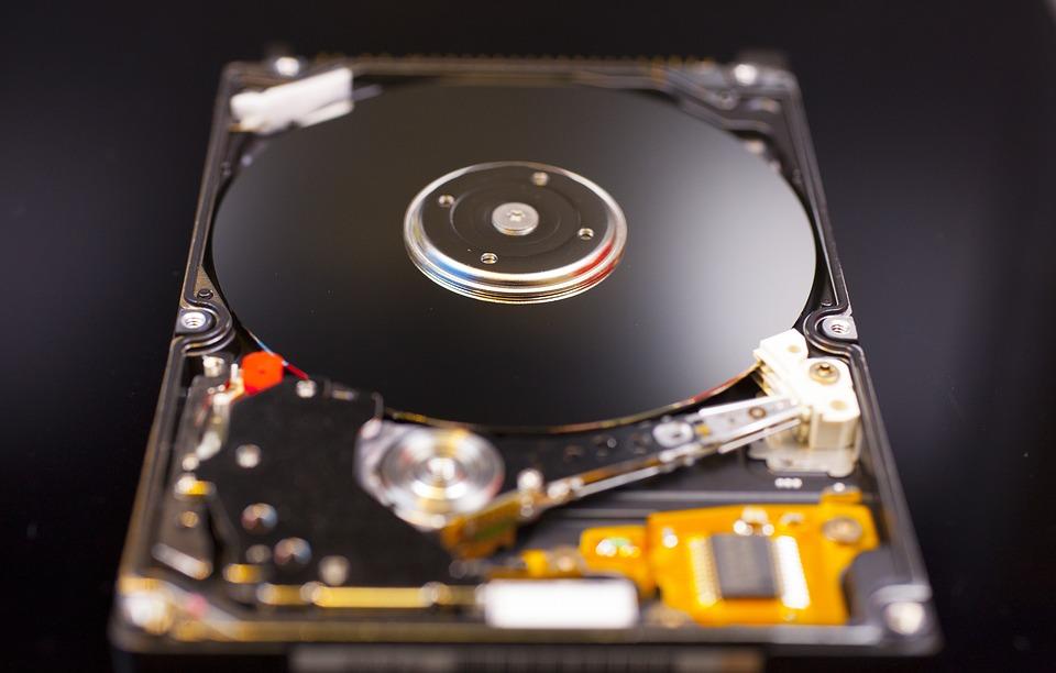 rozebraný disk